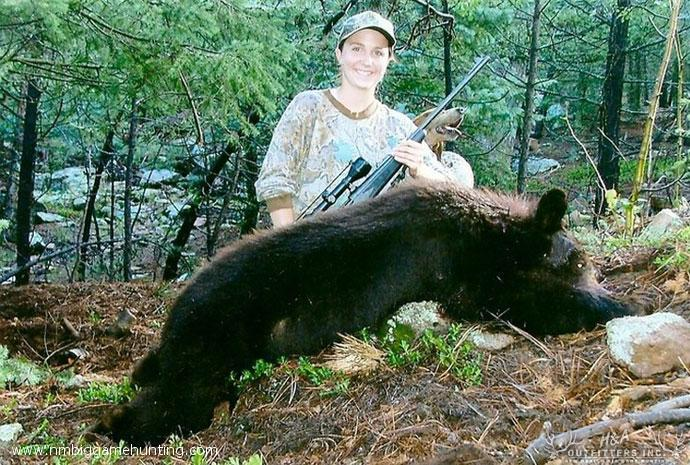 Black Bear Hunts Photo