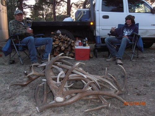 Elk Shed Hunting