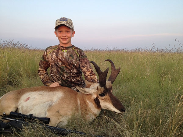 Youth Pronghorn Antelope Hunts